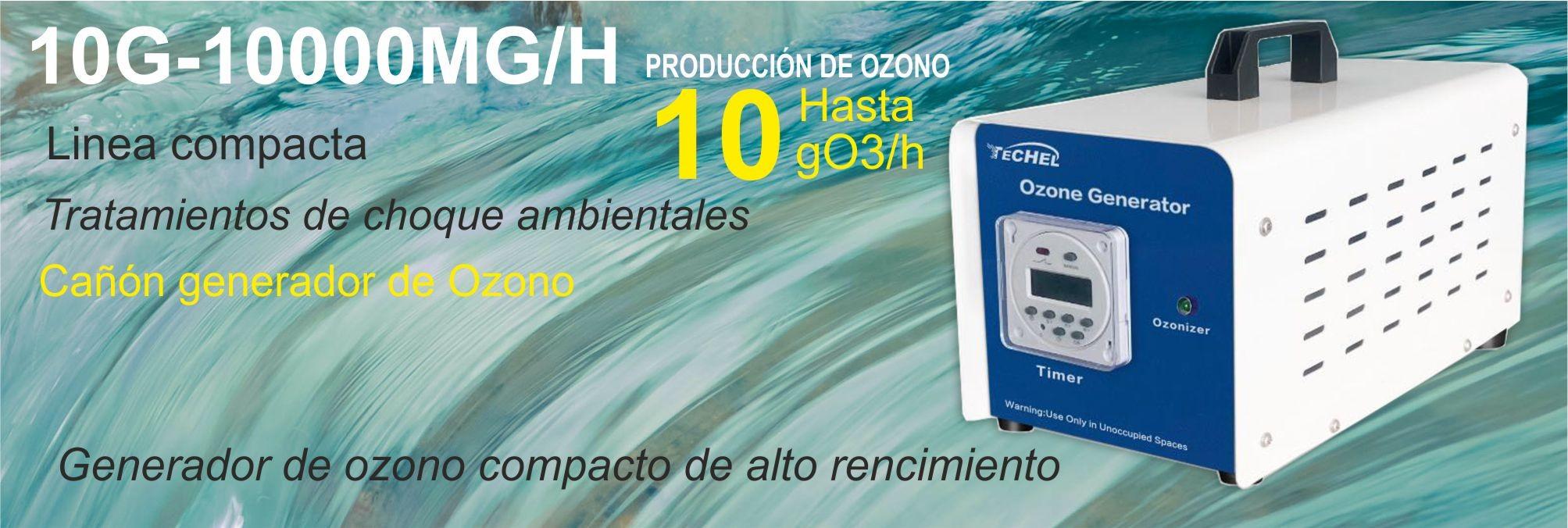 Generador de Ozono portatil de alto rendimiento